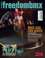 Das Cover der freedombmx 104 mit Jan Beckmann