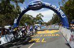 Auf dem Willunga Hill ging Porte zum entscheidenden Angriff über und sicherte sich den Etappensieg. (Foto: Sirotti)