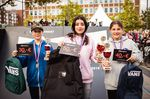 Die Gewinnerinnen der Girlsklasse auf dem TDE-Contest in Kiel