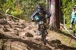 Stefan Garlicki gewinnt die Eliteklasse auf dem iXS German Downhill Cup 2016 in Ilmenau
