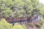 Der Collado Bermejo war die große Herausforderung auf der 10. Etappe. (Foto: Sirotti)