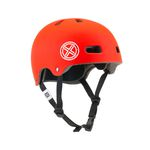 BMX Helm Fuse Protection Delta Scope in rot