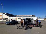 Das United BMX Team in San Francisco