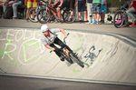 Gina Kurz startete als einziges Mädle beim BMX Männle Turnier in Tuttlingen
