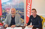 Cadel Evans wird globaler Markenbotschafter für BMC. (Foto: BMC)