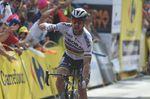 Sagan sprintet in Krakau zum Etappensieg und in die Führung der Gesamtwertung. (Foto: Sirotti)
