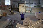 Die Umbauarbeiten in der Reithalle Ulm sind bereits im vollen Gange