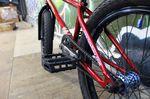 Der Hinterbau von Moritz Wolfs Total BMX Killerbee K2