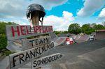 Helmpflicht bei Team Frankenland? Normal!