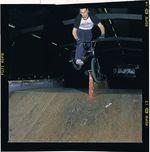 Timm hat schon Snaggles gemacht, bevor die meisten überhaupt geahnt haben, dass es möglich ist, nur auf dem vorderen Peg zu grinden (nämlich 2001); Foto: Kay Clauberg