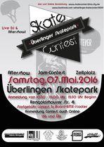 Im Skatepark von Überlingen findet am 7. Mai 2016 ein BMX- und Skatecontest statt