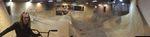 So sieht der Bowl im The Last Hole Skatepark in Hohenfichte aus