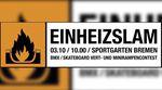 Wie jedes Jahr am Tag der Einheit findet im Bremer Sportgarten am 3. Oktober 2017 wieder der EinheizSlam statt. Hier erfährst du mehr.