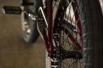 Der Hinterbau des Haro Bikes Lineage BMX Rahmen