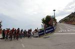 Der Anstieg Alto Puig Llorenca zum Ziel stellte die Profis mit seinen steilen Teilstücken auf eine harte Probe. (Foto: Sirotti)