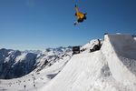 Back to the 90ies - sechs Tage und drei Contests beim Banked Air in Ischgl. Foto: Matt McHattie