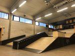 Neue Streetobstacles in der Skatehalle des neun Jugendsportzentrums Ingolstadt