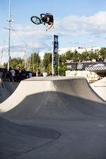 360 Table Top von Chase Hawk beim Vans BMX Pro Cup in Málaga