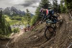 Danny Hart letztes Jahr in Leogang beim UCI WC