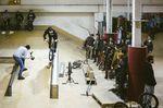 Fabian Bader auf dem Ciao Jam in der Skatehalle Wiesbaden