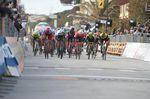 Im Massensprint konnte Kittel sich gegen Peter Sagan (Bora-Hansgrohe) und Giacomo Nizzolo (Trek Segafredo) durchsetzen (Foto: Sirotti)