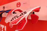 Neues Bracelinie von Atlas, hier das Atlas Air Brace. Mit Schnellöffnungssystem, erhöhter Auflagefläche und klappbaren Finnen.