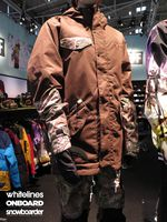 Neff-Parker-Scotty-Lago-Brown-Snowboard-Jacket-2016-2017-ISPO