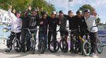 Vor dem TDE-Contest am Kieler Hauptbahnhof fand eine ebenso spontane wie hochkarätig besetzte Vormittagssession im Skatepark von Gaarden statt.