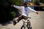 Julian Molina ist neu im BMX-Team von VANS