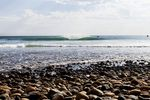 How Are Waves Formed? Lower Trestles is a famous A-Frame reef break wave