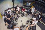 Riders Meeting beim BMX Street Rink