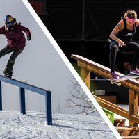 Snowboard Skateboard Unterschiede und Gemeinsamkeiten