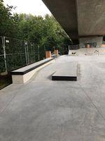 Curbs im Skatepark Friedrichshafen