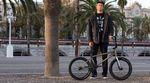 Moritz Nußbaumer stellt auf der Website von wethepeople das Rad vor, mit dem er auch in diesem Jahr auf den Straßen von Barcelona überwintert.