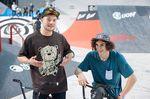 Dan Paley, der Gewinner des Best-Trick-Contests auf der Simple Session im vergangenen Jahr, und Simone Barraco (rechts) sind vom 16.-19. April 2015 wieder in Tallinn dabei