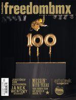 2011 hatten wir dann Janek Wentzky auf einem goldenen Rad von KHEbikes auf dem Cover von unserer 100. Ausgabe. Das Rad hängt heute noch an einem Ehrenplatz im KHE-Hauptquartier