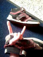 Zerstörte Schuhe Almond Footwear
