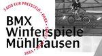 Am 23. Februar steigen im Thuringia Funpark in Mühlhausen die BMX-Winterspiele 2019, bei denen ein Preisgeld von insgesamt 3.000 EUR winkt. Mehr dazu hier.