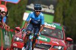 14-09-2018 Vuelta A Espana; Tappa 19 Lleida - Col De La Rabassa; 2018, Movistar; Quintana Rojas Nairo, Alexander; Col De La Rabassa;