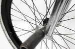 SaltPlus BMX Vorderrad und Demolition Plastikpegs