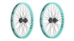 Auf der Suche nach freshen Wheels für deinen Whip? Dann check mal die neuen Elite-Laufräder von G-Sport mit zahnpastafarbenden Ribcage-Felgen!