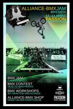 Vom 12.-13. März 2016 findet auf der Passion Sports Convention in Bremen der Alliance BMX Jam statt. Hier erfährst du mehr!