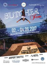 Der Termin für den Butcher Jam 2017 steht: Vom 2. bis 4. Juni geht es auf dem Gelände des Flensburger Schlachthofs wieder ordentlich zur Sache