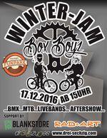 Wer es sich vor den Weihnachtsfeiertagen noch einmal ordentlich besorgen möchte, kann dies am 17. Dezember auf dem BMX- und MTB-Jam der BoxBoyz im Thuringia Funpark in Mühlhausen tun.