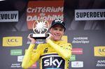 Wird er dieses Jahr wieder gut lachen haben? Chris Froome könnte beim 69. Critérium du Dauphiné der Hattrick gelingen. Foto: A.S.O./A. Broadway