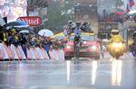 8. Etappe - Blel Kadri (AG2R) gewinnt als Solist die erste Etappe für Frankreich zwischen Tomblaine und Gerardmer. (Foto: Sirotti)