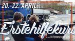 Vom 20.-22. April 2017 bieten die Sportpiraten wieder einen Erste-Hilfe-Kurs im Schlachthof Flensburg an. Hier erfährst du mehr.