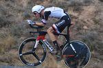Wilko Keldermann fuhr sich mit dem zweiten Platz im Einzelzeitfahren auf den Rang als Gesamtdritter. (Foro: Sirotti)