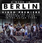 """Am Montag, den 12. März 2018 um 18 Uhr, findet in Berlin-Neukölln die Premiere des neuen Autum-Videos """"One Week in Berlin"""" statt. Hier gibt"""