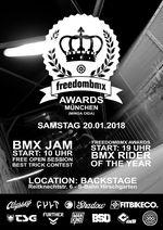 Minga. Oida! Am 20. Januar 2018 gehen die freedombmx Awards in München in die sechste Runde und ihr seid alle herzlich eingeladen. Mehr dazu hier.